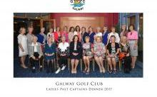 Past Lady Captains Dinner 2017